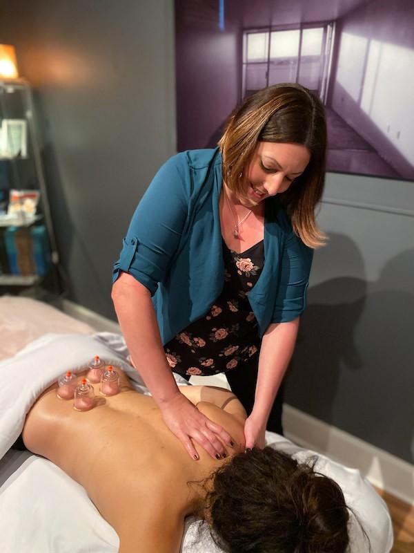 cupping massage Integrative Bodywork in St. Pete